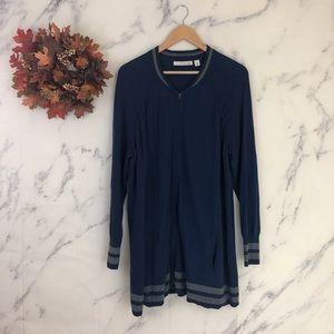 Sejour Varsity Style Cardigan Sweater